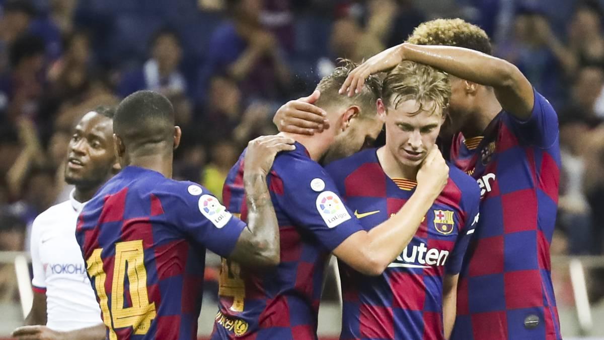 Alineaciones posibles de Barcelona y Betis hoy en LaLiga