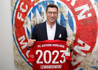 Lewandowski, hasta 2023