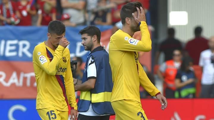 Crisis de pretemporada en el Barça en la jornada tres