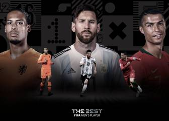 El The Best estará entre Messi, Cristiano y Van Dijk