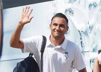 Keylor Navas bids Madrid adiós and takes private plane to Paris