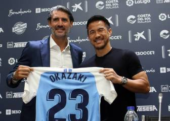 Okazaki, no regrets after being left high and dry by Málaga