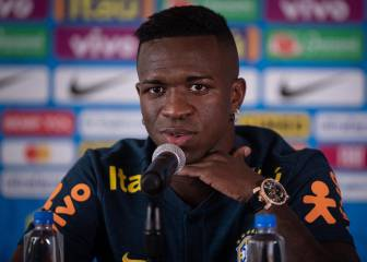 Tite set to start Vinicius on the bench for Colombia friendly