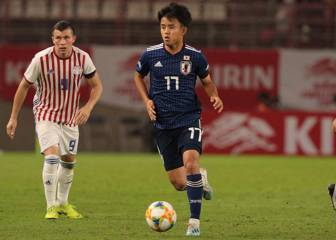 Kubo shines in Japan friendly win over Paraguay