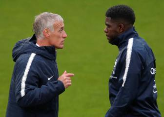 Samuel Umtiti leaves the France squad