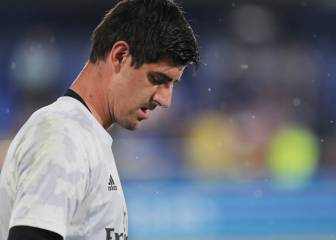 Courtois' agent detained by police in Monaco