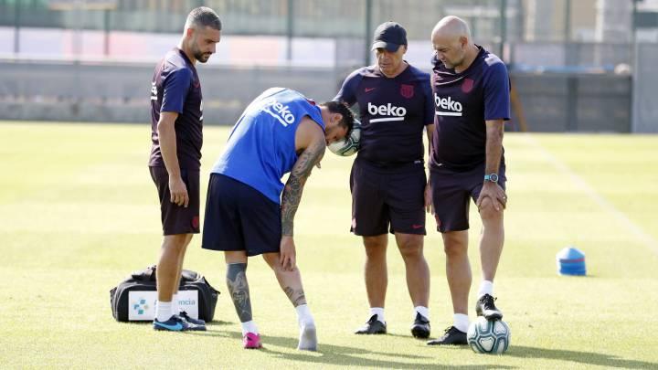 Messi también será baja en el debut de Champions en Dortmund