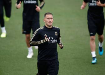 Hazard, Jovic and Rodrygo in Real Madrid squad for Levante