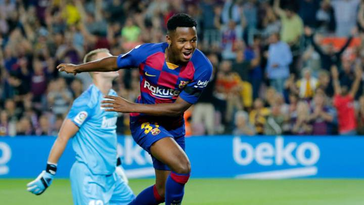 Barcelona Make Ansu Fati A Tasty New Contract Renewal Offer As Com