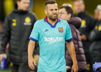 Barcelona rule out muscle tear: Jordi Alba out for 10 to 15 days