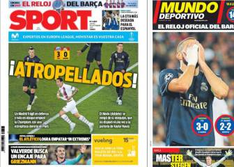 Catalan press find comfort in Madrid defeat