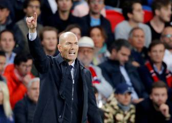 Zidane ponders new system for Madrid-Sevilla clash