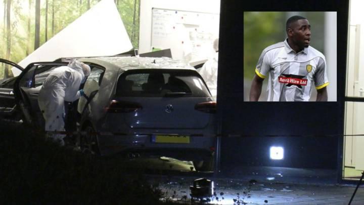Dos motoristas matan a tiros al futbolista Kelvin Maynard