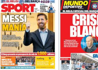 'Madrid in crisis' scream the Catalan media