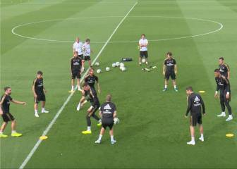Kroos takes one in the crown jewels in Real Madrid training