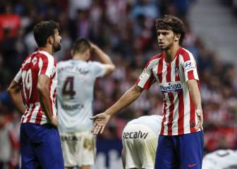 Joao Félix and Diego Costa fail to find an understanding