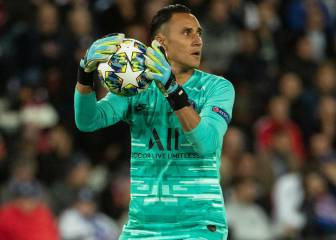 Keylor comienza impecable