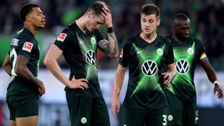 El Wolfsburgo tropieza y no volverá a puestos europeos - AS.com