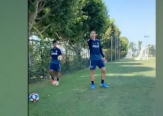 Were you filming that? Ibra's trickshot madness