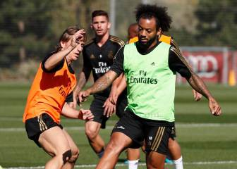 Marcelo speeds up recovery for derby; Isco and Modric back