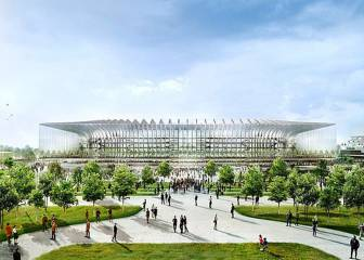 Inter and Milan's proposed new San Siro stadium