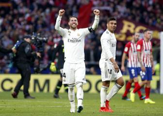 Real Madrid's top derby appearance-makers