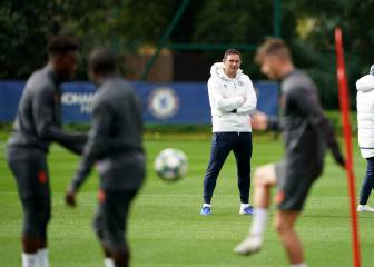 Lampard busca estabilidad en la Champions League