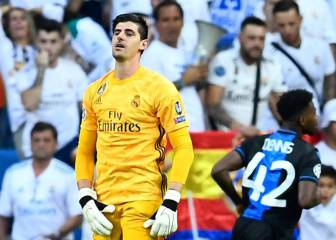 Courtois hits rock bottom as Areola lies in wait