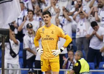Courtois misses training, in doubt for Saturday