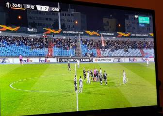 Qarabag-Dudelange game suspended after drone flies onto field with Armenian flag