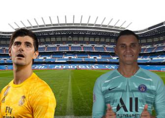 Courtois off to a worse start than Navas for Real Madrid