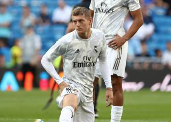 Groin problem forces Kroos out of action after 30 minutes