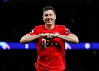 Lewandowski sigue haciendo historia