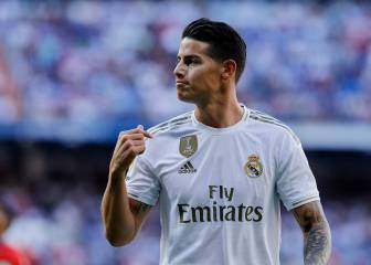 James stays behind to win over Zidane