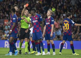Dembélé handed two-game ban and will miss Clásico