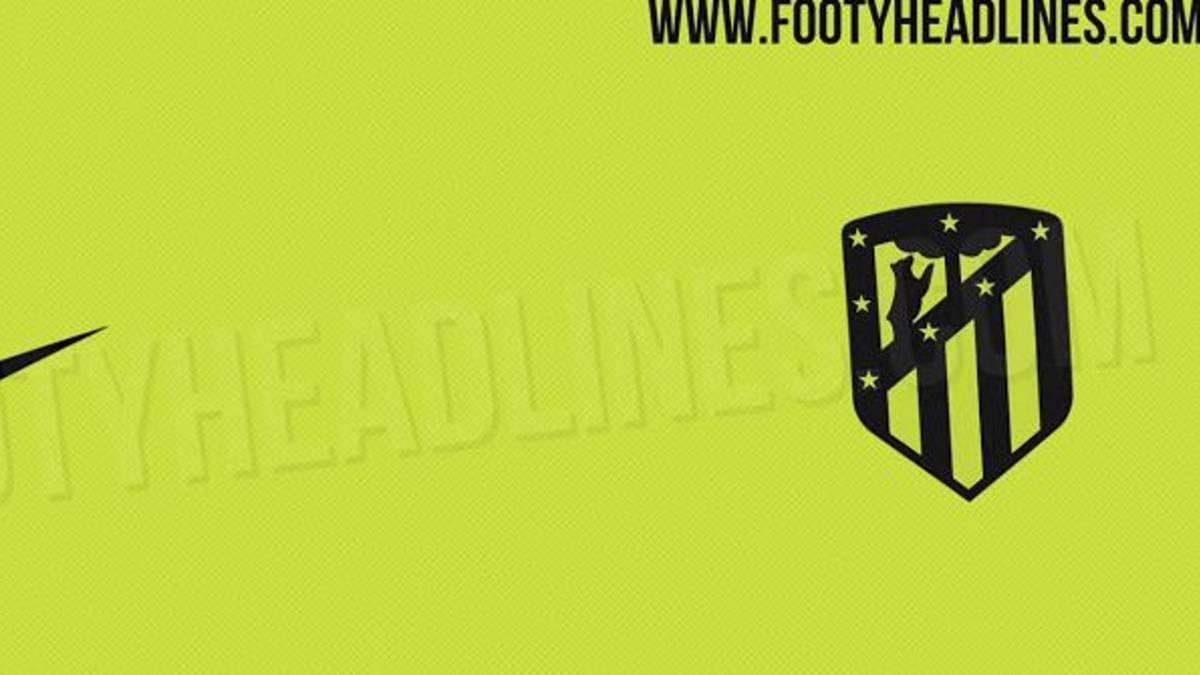 La tercera camiseta del Atlético 2020-21 será amarillo fosforito 1