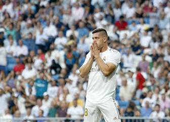 Madrid's Jovic dropped as punishment