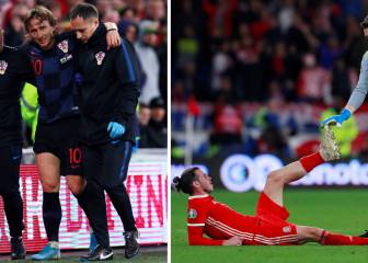 Modric injured and Bale in the wars in Wales-Croatia qualifier