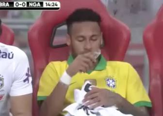 Neymar's tears say it all after another injury setback