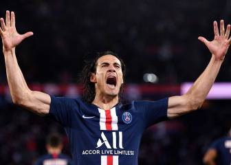 Atlético to go all out for PSG striker Cavani in January