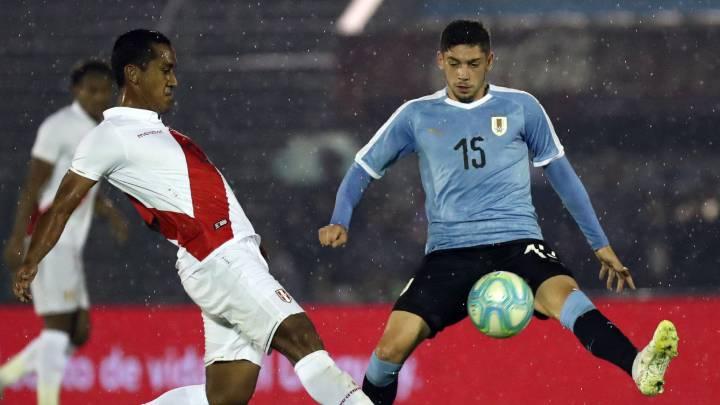 Resultado de imagen de fede valverde uruguay peru