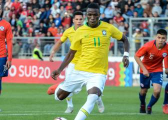 Brazil haven't thrown in the towel on Vinicius at Olympics