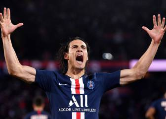 Cavani hopeful of PSG contract offer as Atlético, Juve wait