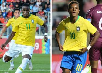 Rodrygo and Vinicius wanted for Brazil Olympic qualifiers