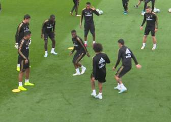 Marcelo makes mug of Vinicius in 'meg-heavy session