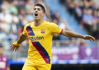 Luis Suárez up to fourth in all-time scorer list at Camp Nou