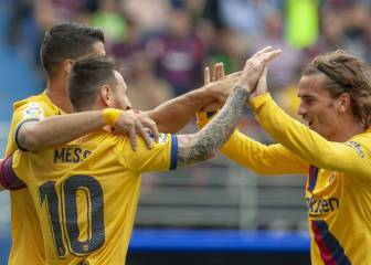 Barcelona trio come to life: 13 goals between them so far