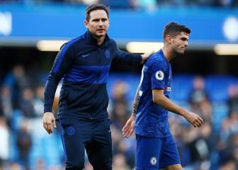 Lampard intenta reactivar al Capitán América