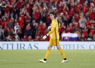 Courtois' struggles continue