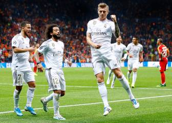 Kroos and Courtois deliver the goods for Madrid in Istanbul